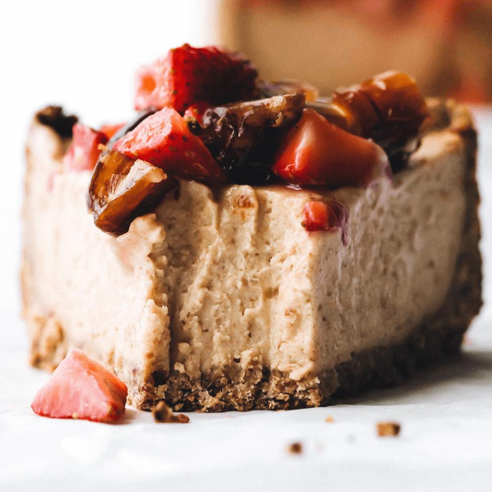 Vegan Gluten Free Dairy Free Cheesecake
