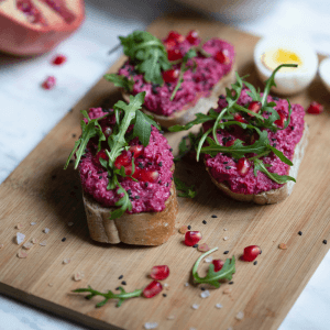 Pesto made with Beetroot