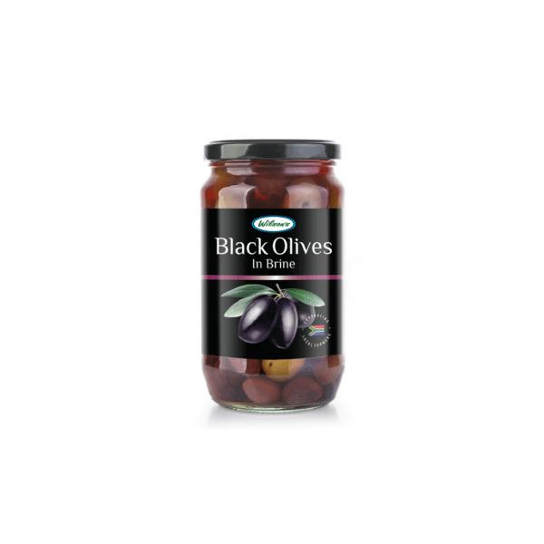 Black olives in Brine