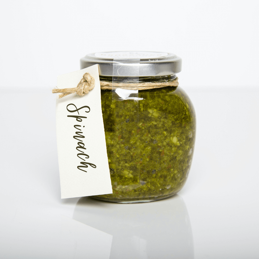 Pesto made with Spinach